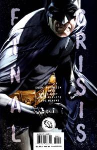 MORTE DO BATMAN! FINAL CRISIS! GRANT MORRISON! BATMAN RIP